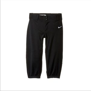 New boys black Nike vapor pro baseball pants